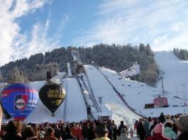Olympia-Skistadion mit neuer Sprungschanze