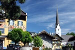 Alte Kirche in Garmisch