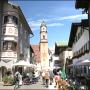 Kirche und Fußgängerzone Mittenwald